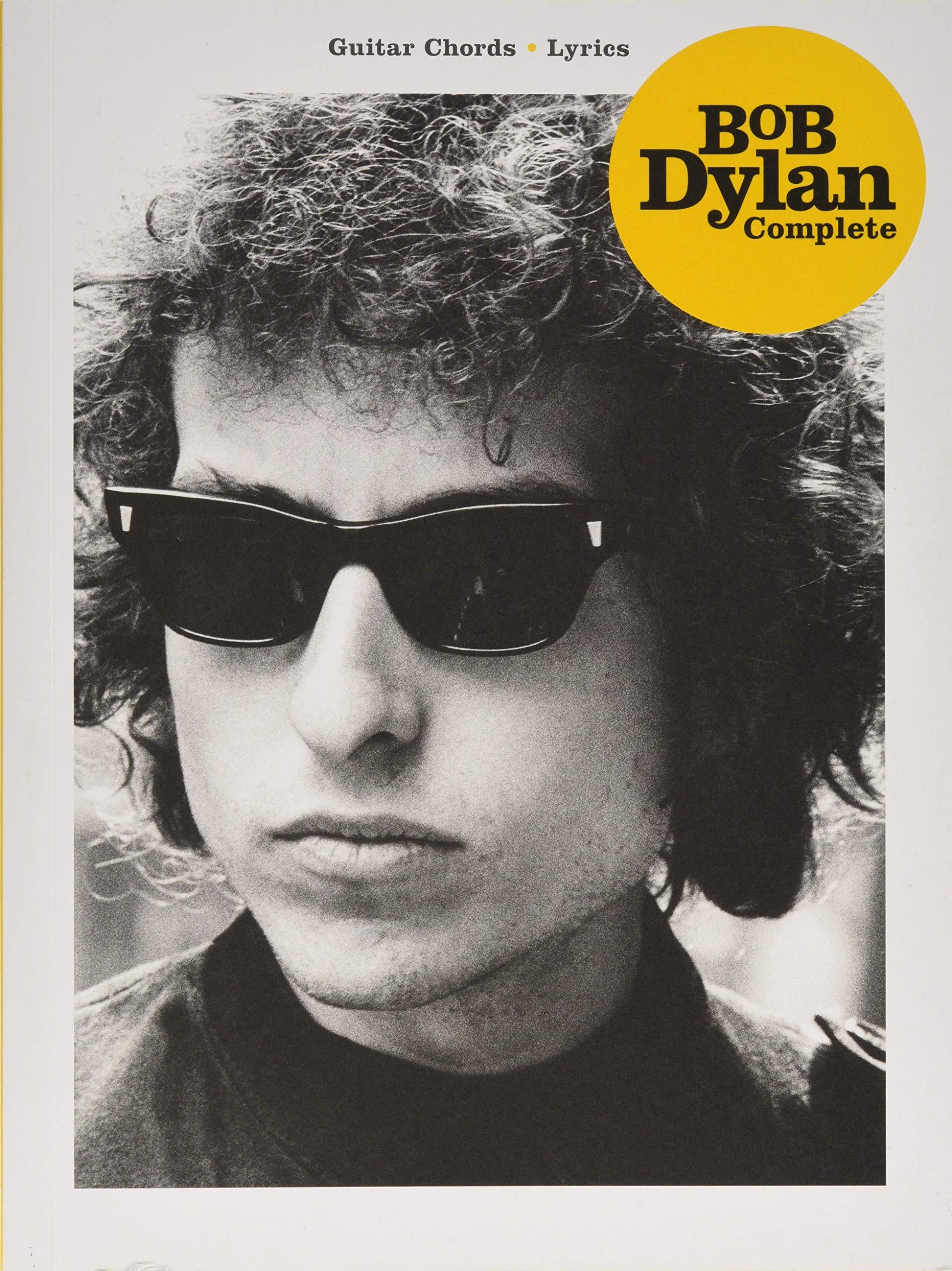 Bob Dylan Complete (Guitar Chords, Lyrics) by Hal Leonard