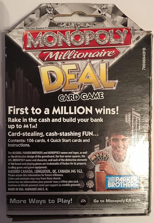 Parker Brothers Monopoly Millionaire Deal by Hasbro: Amazon.es: Juguetes y juegos
