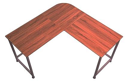 Topsky en forma de L para esquina escritorio de ordenador 55