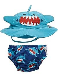 d9fbd9bcc35 ZOOCCHINI Swim Diaper   Sun Hat
