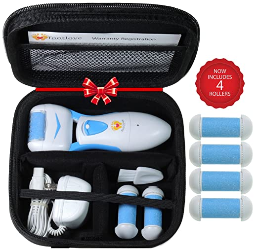 Electric Callus Remover by Foot Love with Travel Case