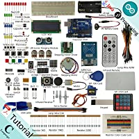 Freenove RFID Starter Kit V2.0 for Arduino | Beginner Learning | UNO R3 Mega Nano Micro | Processing Oscilloscope Voltmeter | 49 Projects, 251 Pages Detailed Tutorials, 190+ Components