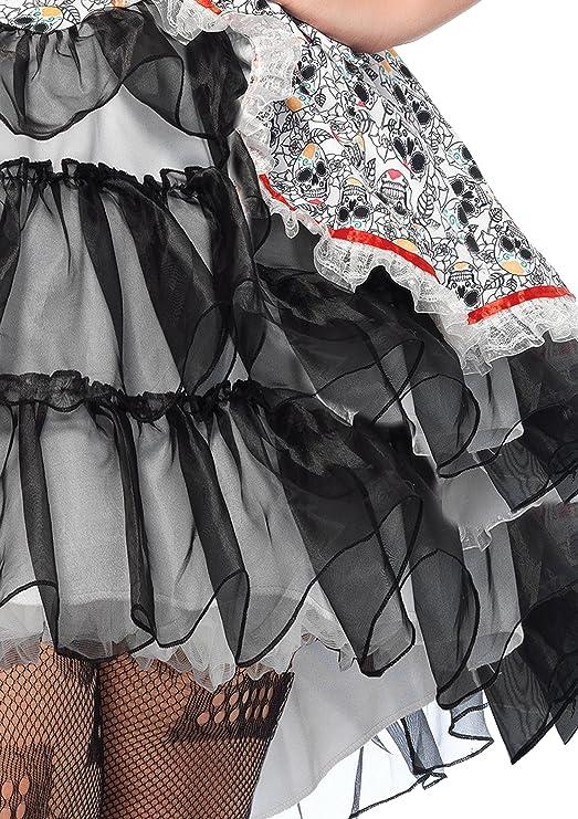 Amazon.com: Leg Avenue Womens Plus Size Lovely Calavera Costume: Clothing