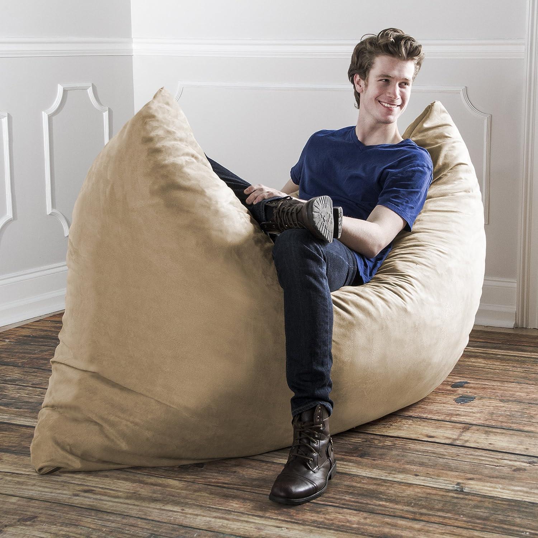 Amazon.com: Jaxx Pillow Saxx 16.16-Foot - Huge Bean Bag Floor Pillow ...
