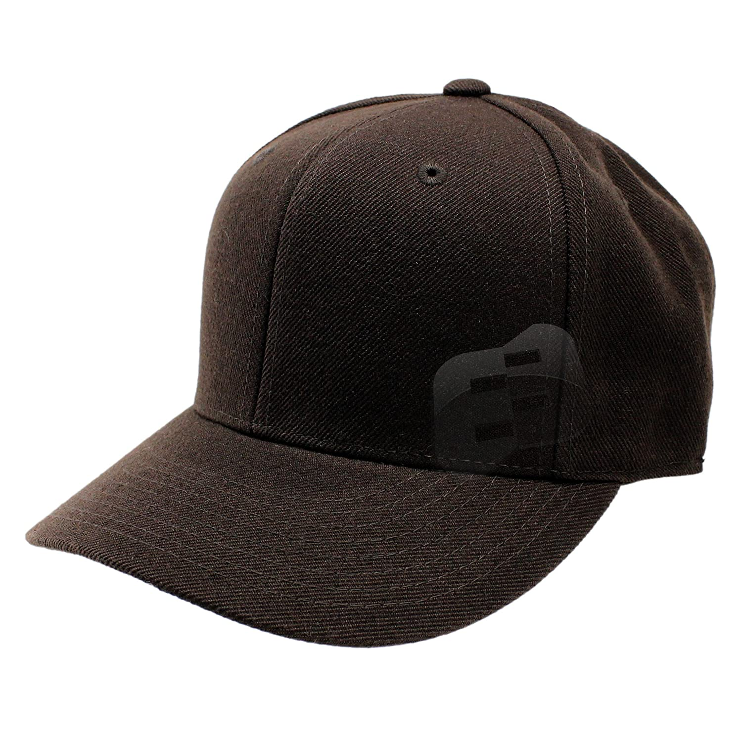 762d3fde43348f Enimay Baseball Hats Caps Curved Bill Solid Color No Logo Brown 7 1/8 at  Amazon Women's Clothing store: