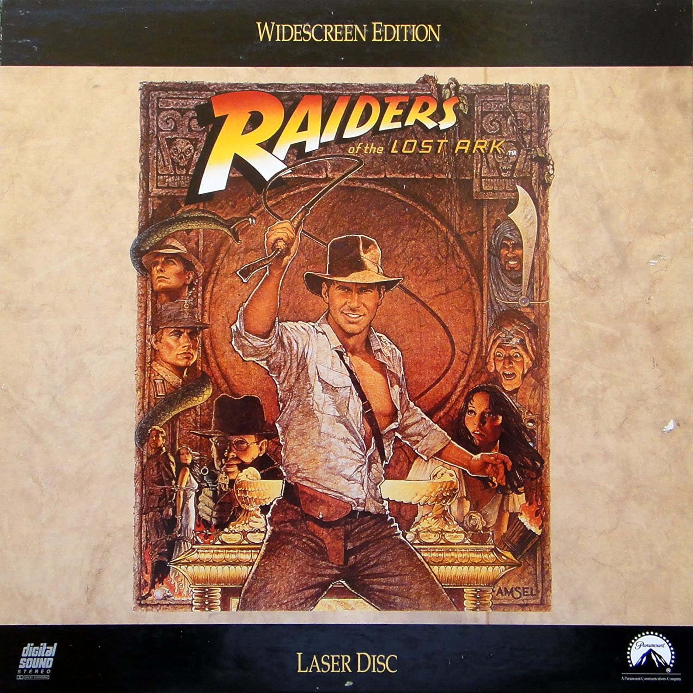 Raiders of the Lost Ark Widescreen Edition - LaserDisc