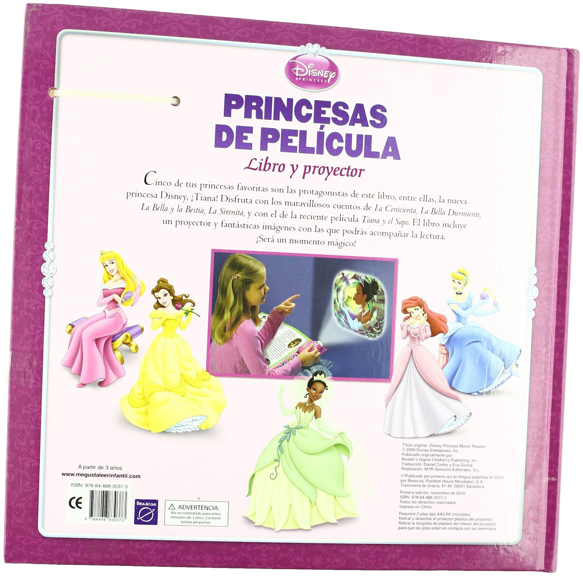 Princesas de película. Libro y proyector PRINCESAS DISNEY ...