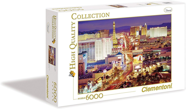 Clementoni Pingüinos De Madagascar Puzzle 6000 Piezas Las Vegas ...