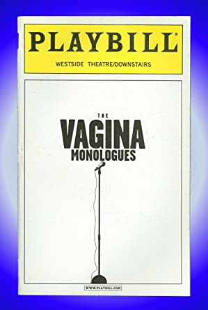 The Vagina Monologues Off Broadway Playbill Becky Ann Baker