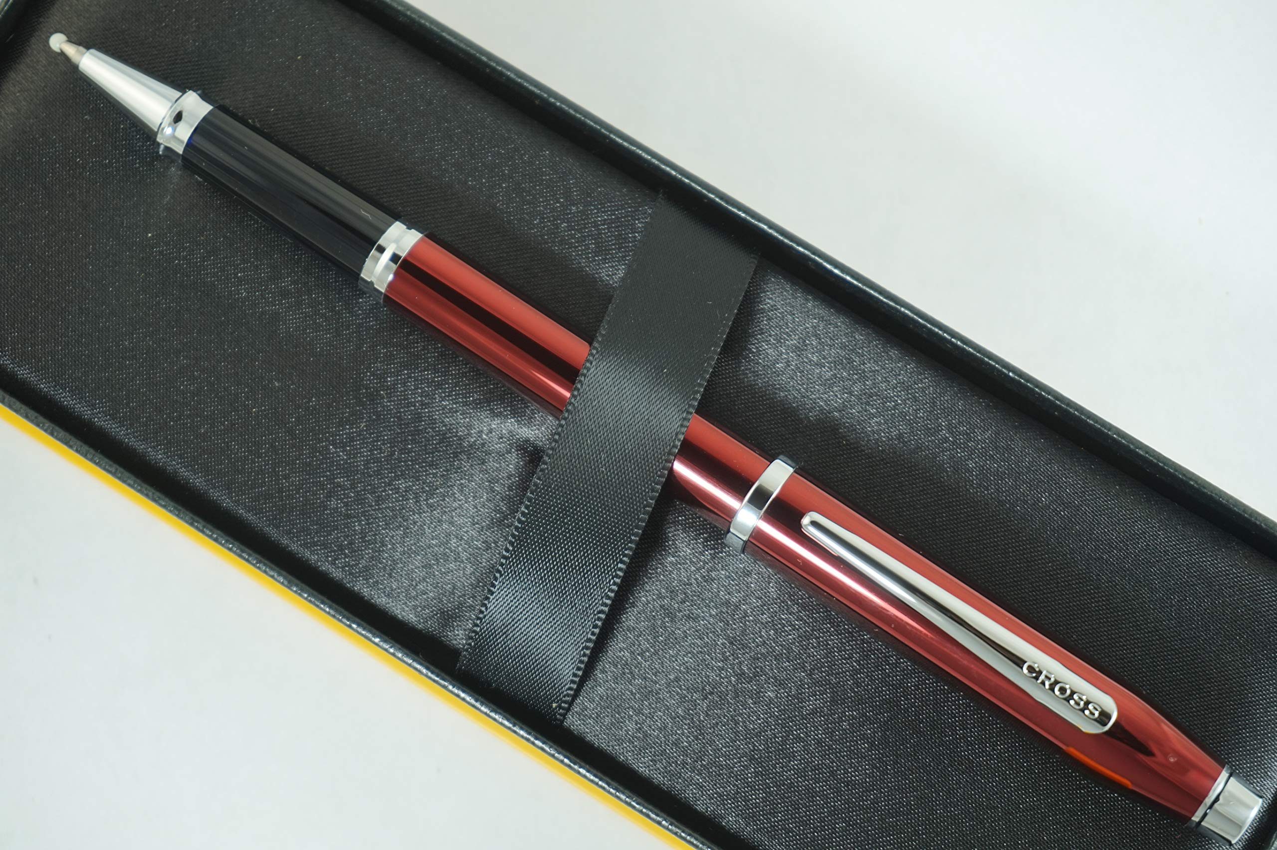 Cross Century II Limited Series, Pearlescent Metallic Ruby Red selectip Gel Ink Rollerball Pen by A.T. Cross (Image #2)