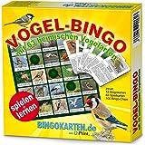 Vogel-Bingo Spiel! 63 heimisch Vogelarten spielend kennenlernen für Kinder und Erwachsene