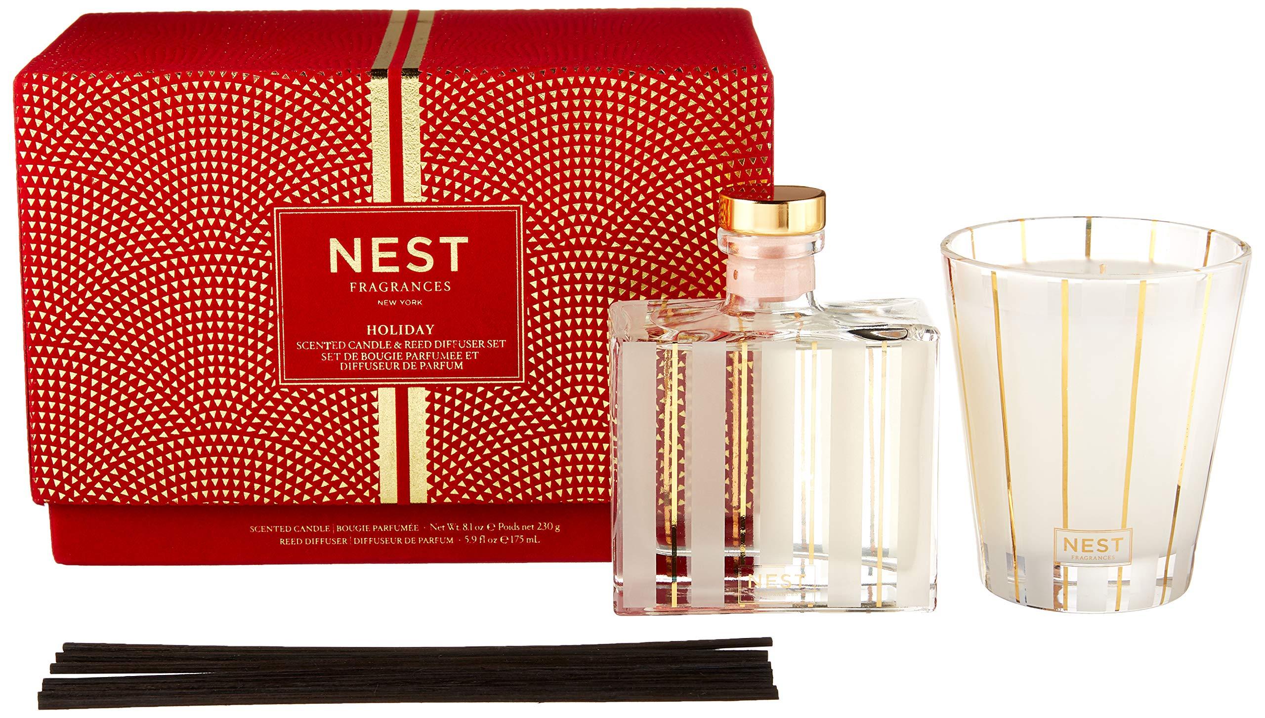 NEST Fragrances Candle & Reed Diffuser Set by NEST Fragrances