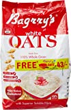 Bagrry's White Oats, 1kg Pouch with Free Bagrry's White Oats, 200g