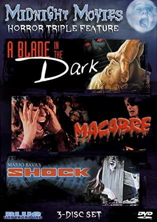 Midnight Movies Vol 1 Horror Triple Feature A Blade In The Dark Macabre