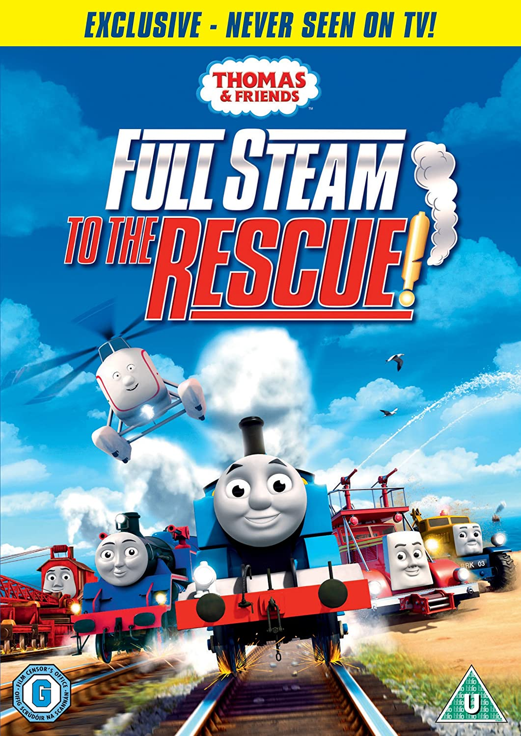 thomas friends full steam to the rescue dvd amazon co uk