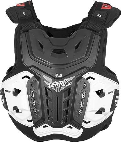 Leatt Brustprotektor 4 5 Schwarz Größe Xxl Bekleidung