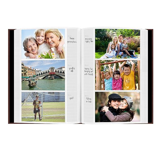 amazon com pioneer photo albums 300 pocket european bonded leather