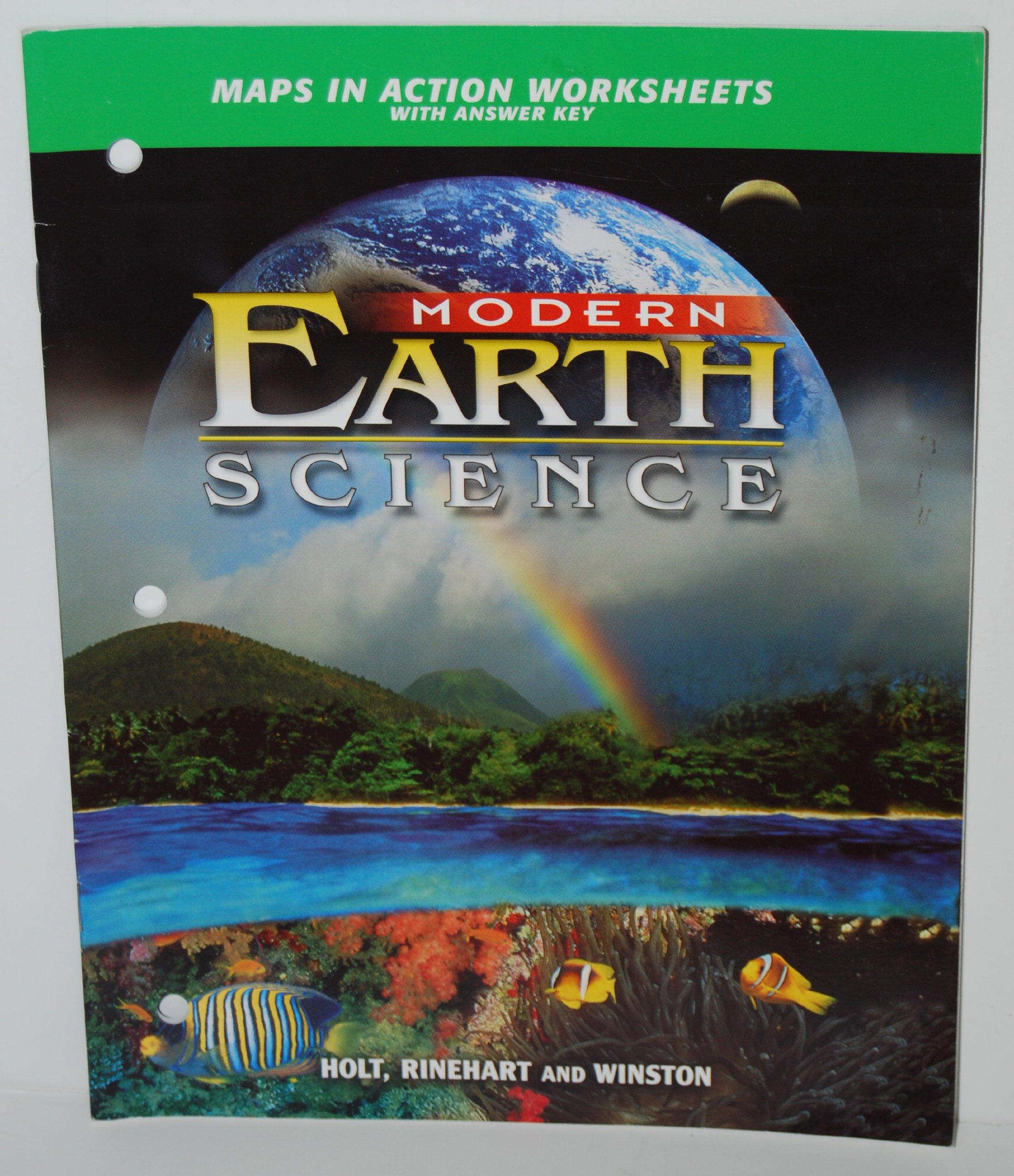 2002 Holt Modern Earth Science Section Reviews With Answer