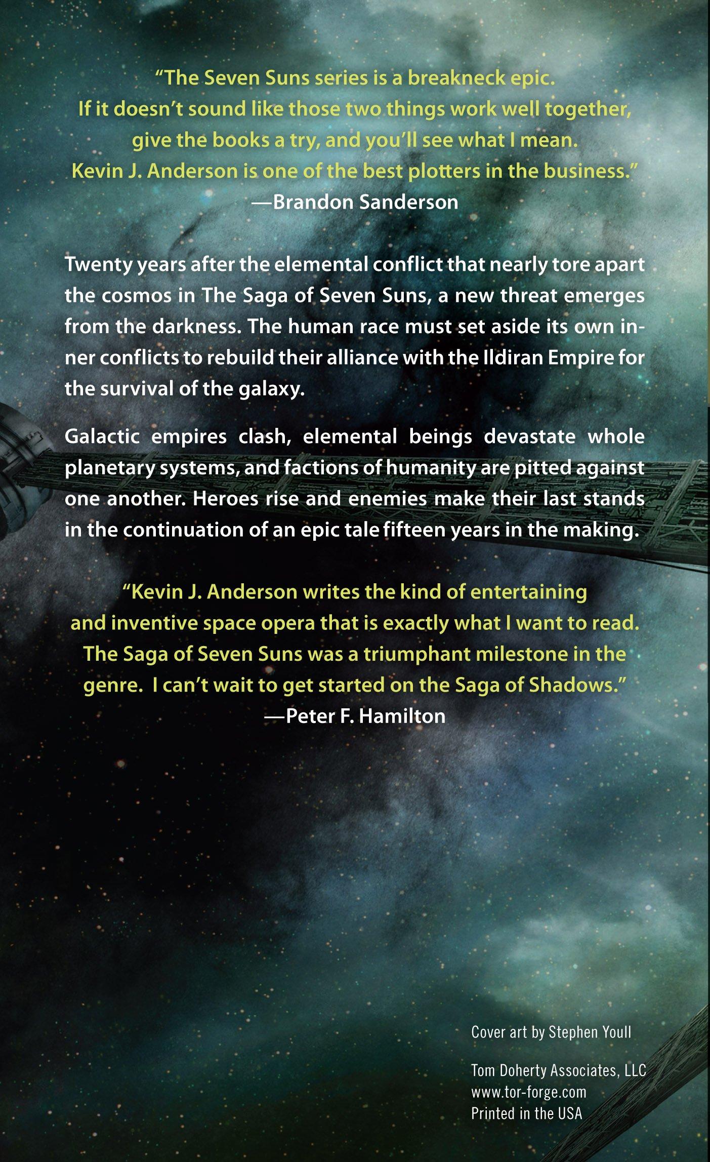 The Dark Between the Stars: The Saga of Shadows, Book One: Amazon ...