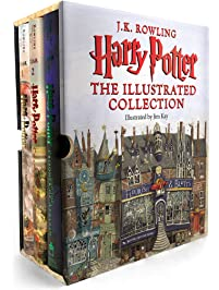 Harry Potter: The Illustrated Collection (Books 1-3 Boxed Set)