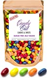 Sugar Free Sours Jelly Beans 1 Pound - Sugar Free Candy in CandyOut Sealed Stand Up Bag