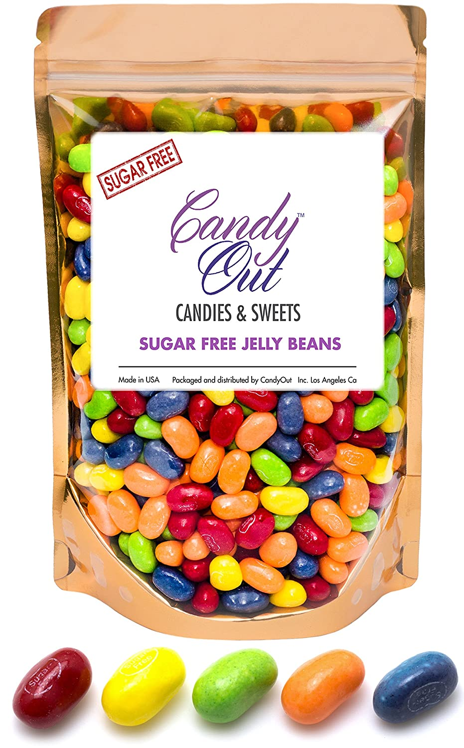 Sugar Free Sours Jelly Beans