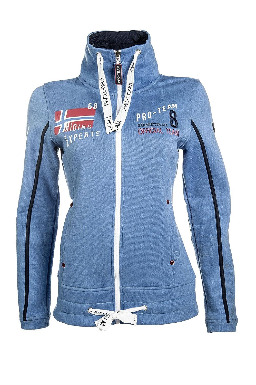 142207331 Hkm Pro Team Jacket - International mid-blue Size L  Amazon.co.uk  Sports    Outdoors