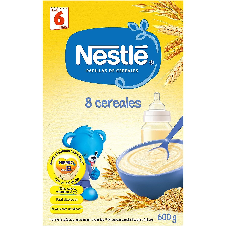NESTLÉ Papilla 8 cereales - Alimento para Bebés: Amazon.es: Amazon Pantry