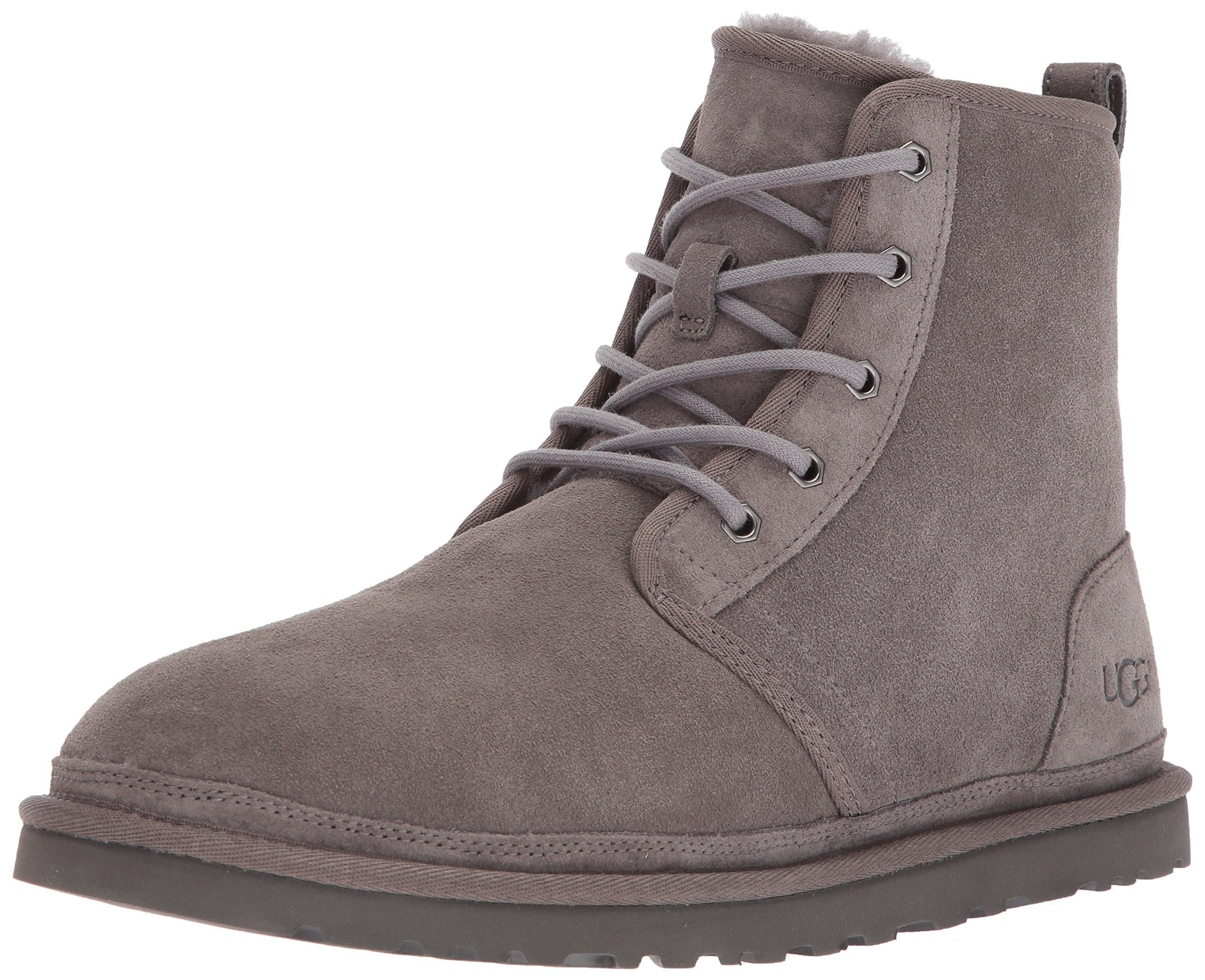UGG Men's Harkley Sneaker, Charcoal, 16 M US
