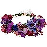 DreamLily Maternity Woodland Photo Shoot Peony Flower Crown Hair Wreath Wedding Headband BC44