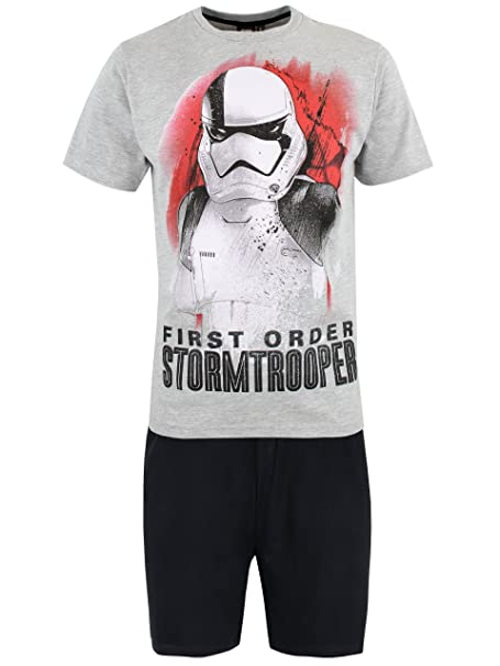 Star Wars Pijama para Hombre Stormtrooper Multicolor Small