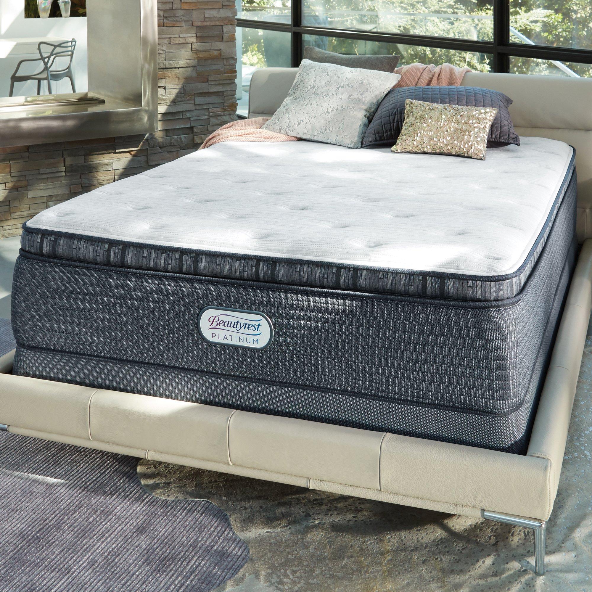Beautyrest 15'' Spring Grove Plush PillowTop Mattres Mattress, King by Beautyrest