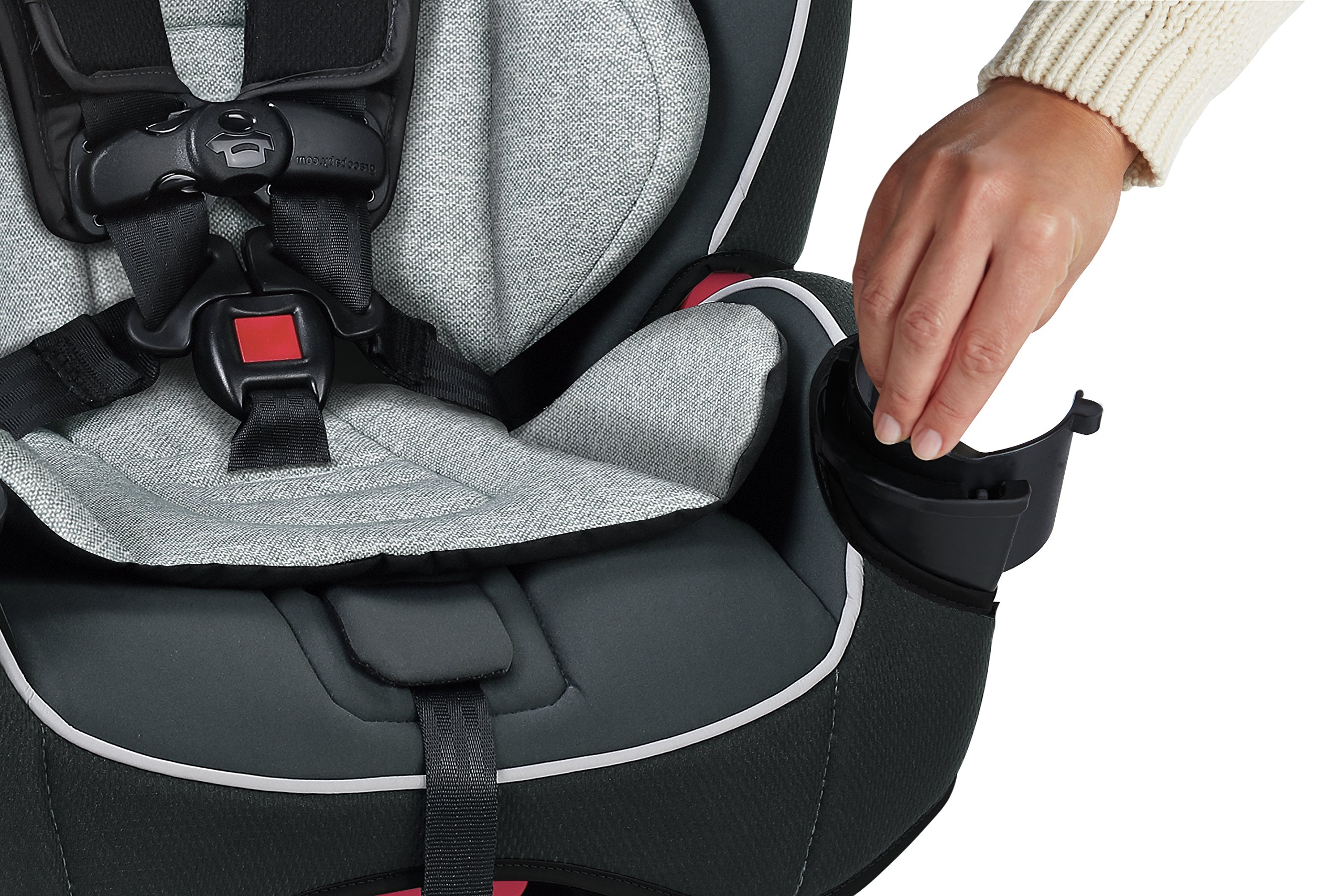 Graco SlimFit 3-in-1 Convertible Car Seat, Darcie by Graco (Image #6)