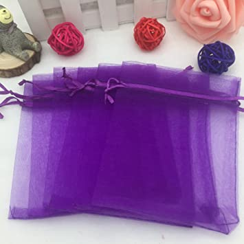 8c9ae05683d Organza Gift Bags Wedding Favour Bags Jewelry Pouches