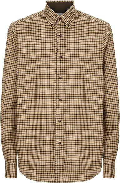 LE CHAMEAU 1927 Swinbrook - Camisa para Hombre, Color Beige: Amazon.es: Ropa y accesorios