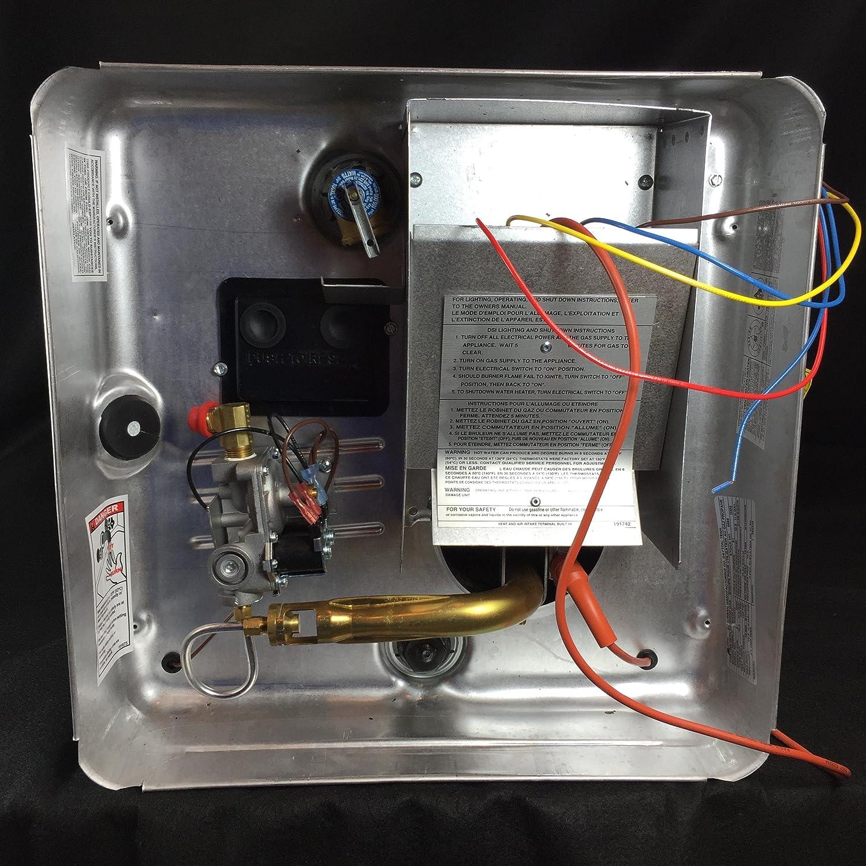 Amazon.com: Suburban Finished Goods Suburban Rv Water Heater G/E DSI ...