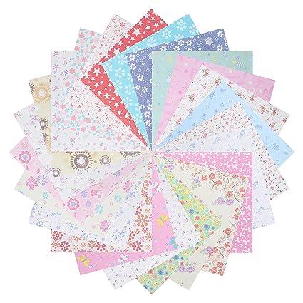 Amazon Com Benvo 144 Sheets Origami Paper Set Craft Folding Paper