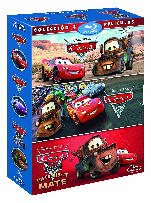 Pack Cars + Cars 2 + Cars toon [Blu-ray]: Amazon.es: 0, Varios, 0 ...