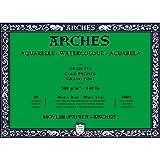 "Arches Watercolour Block, Black, 10""x14"""