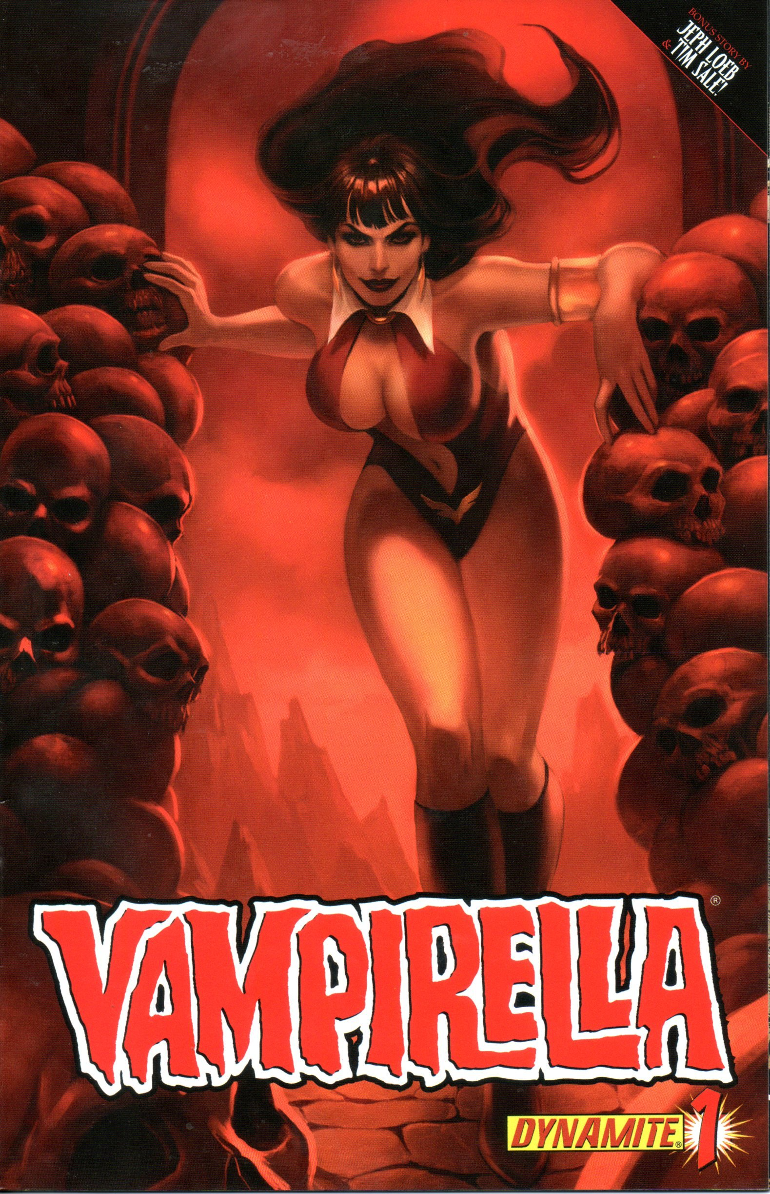 Read Online Vampirella #1 Jelena Kevic-Djurdjevic Cover pdf epub