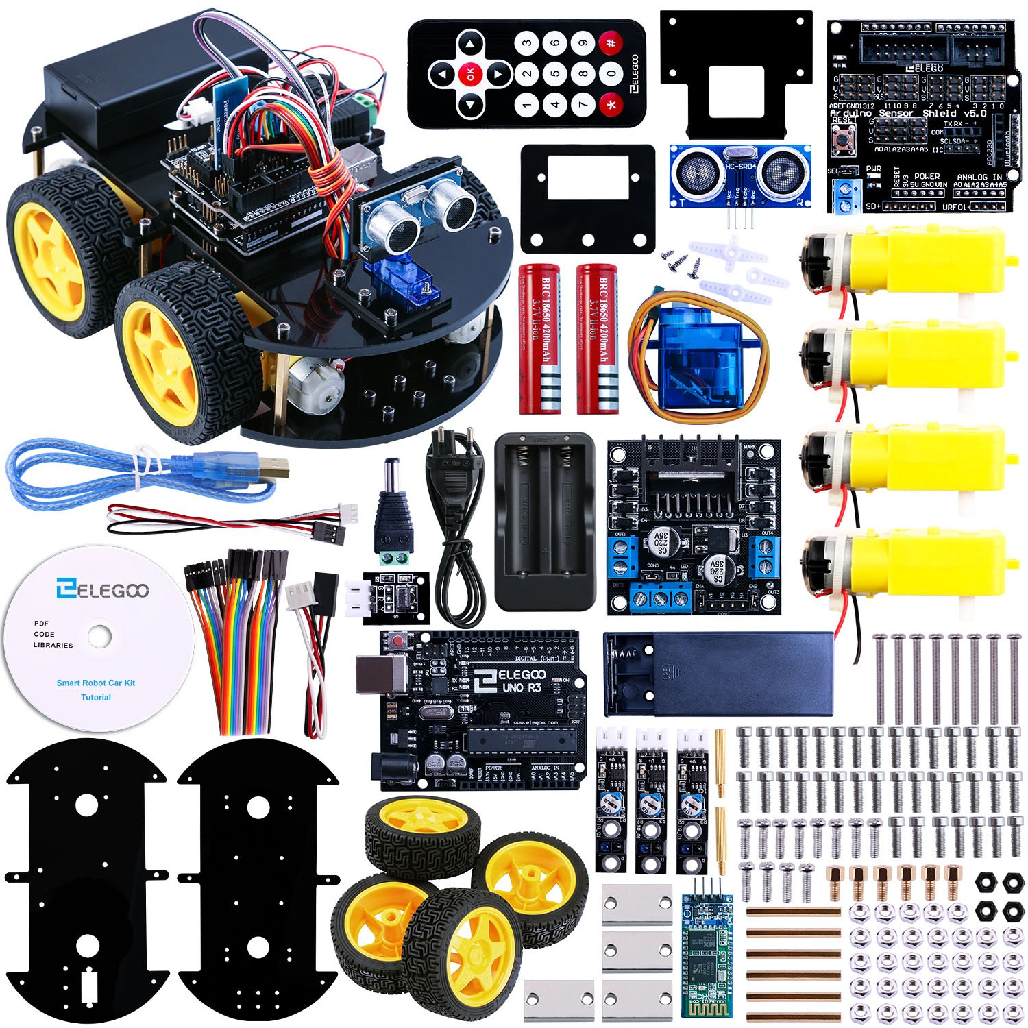 Best adeept smart car kit for arduino remote control