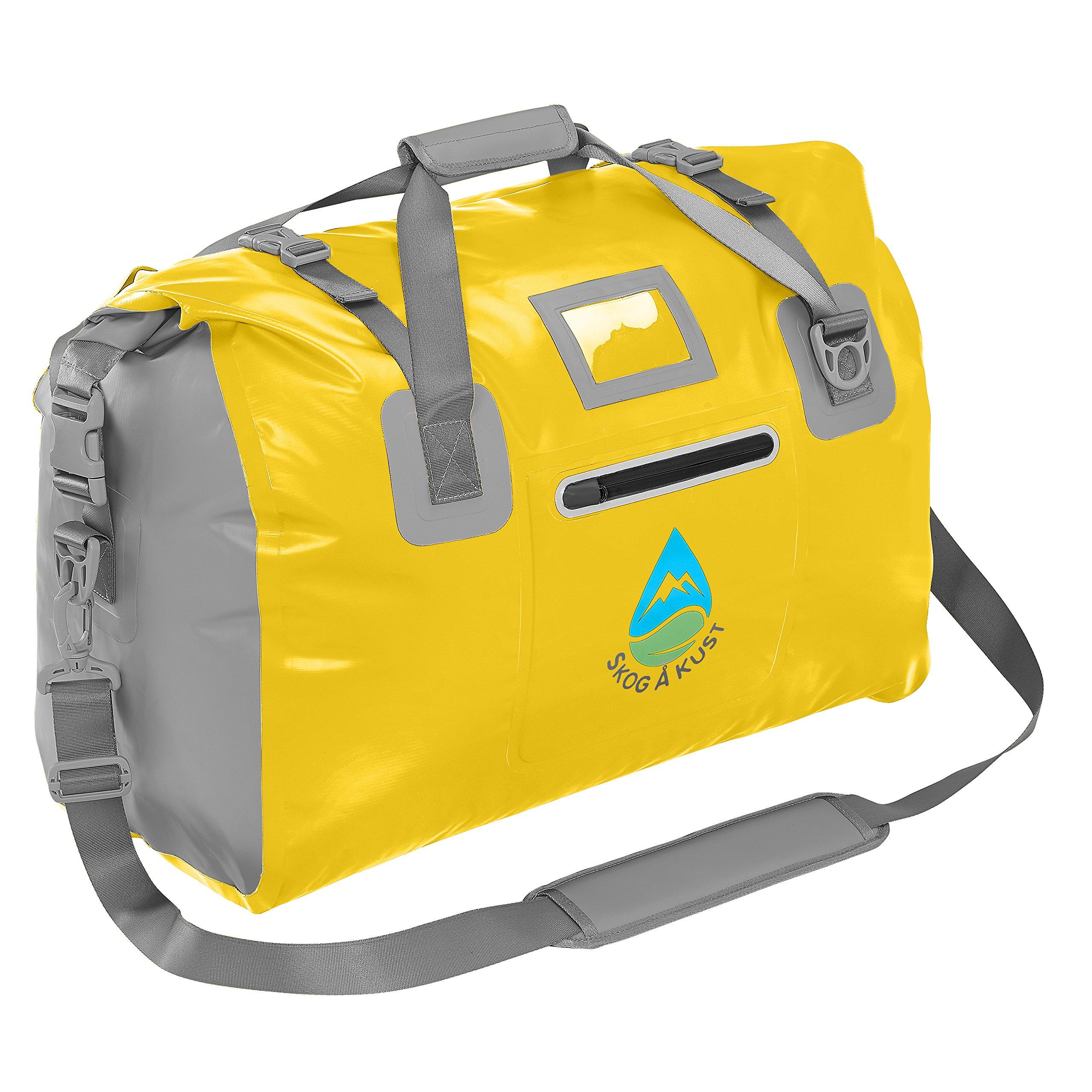 Skog Å Kust DuffelSak Waterproof Duffel Bag | 40L Yellow by Skog Å Kust