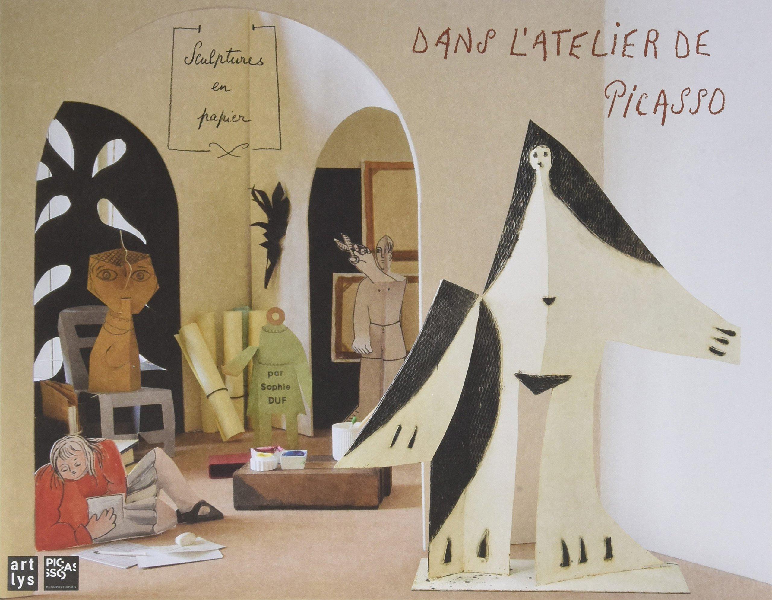 Incroyable dans l'atelier de picasso sculptures en papier: Duf sophie VR-48