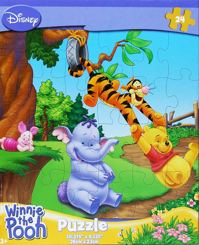 On the Swing Disney Winnie the Pooh 24-Piece Jigsaw Puzzle