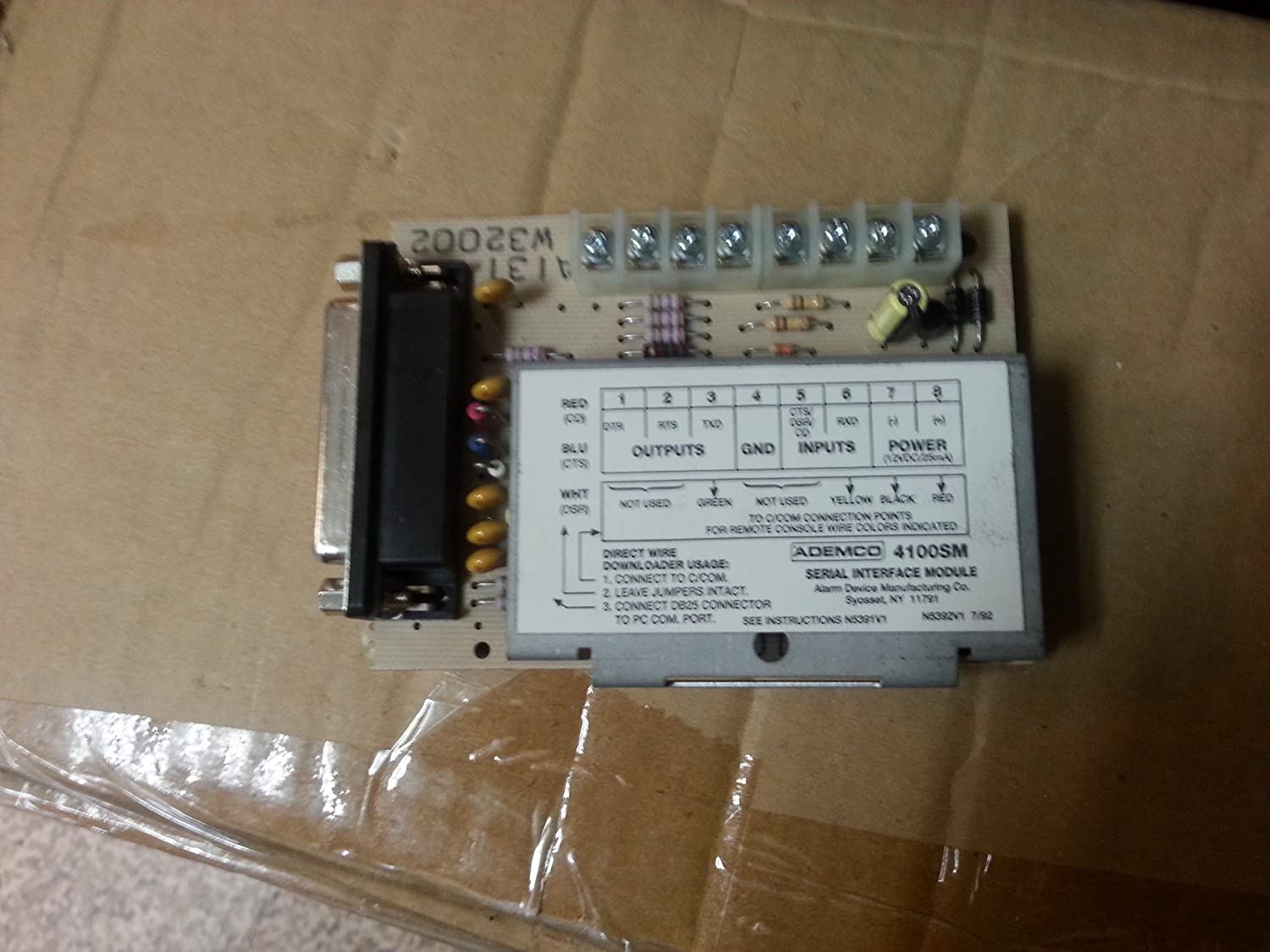 Honeywell Ademco 4100SM Serial Interface Module
