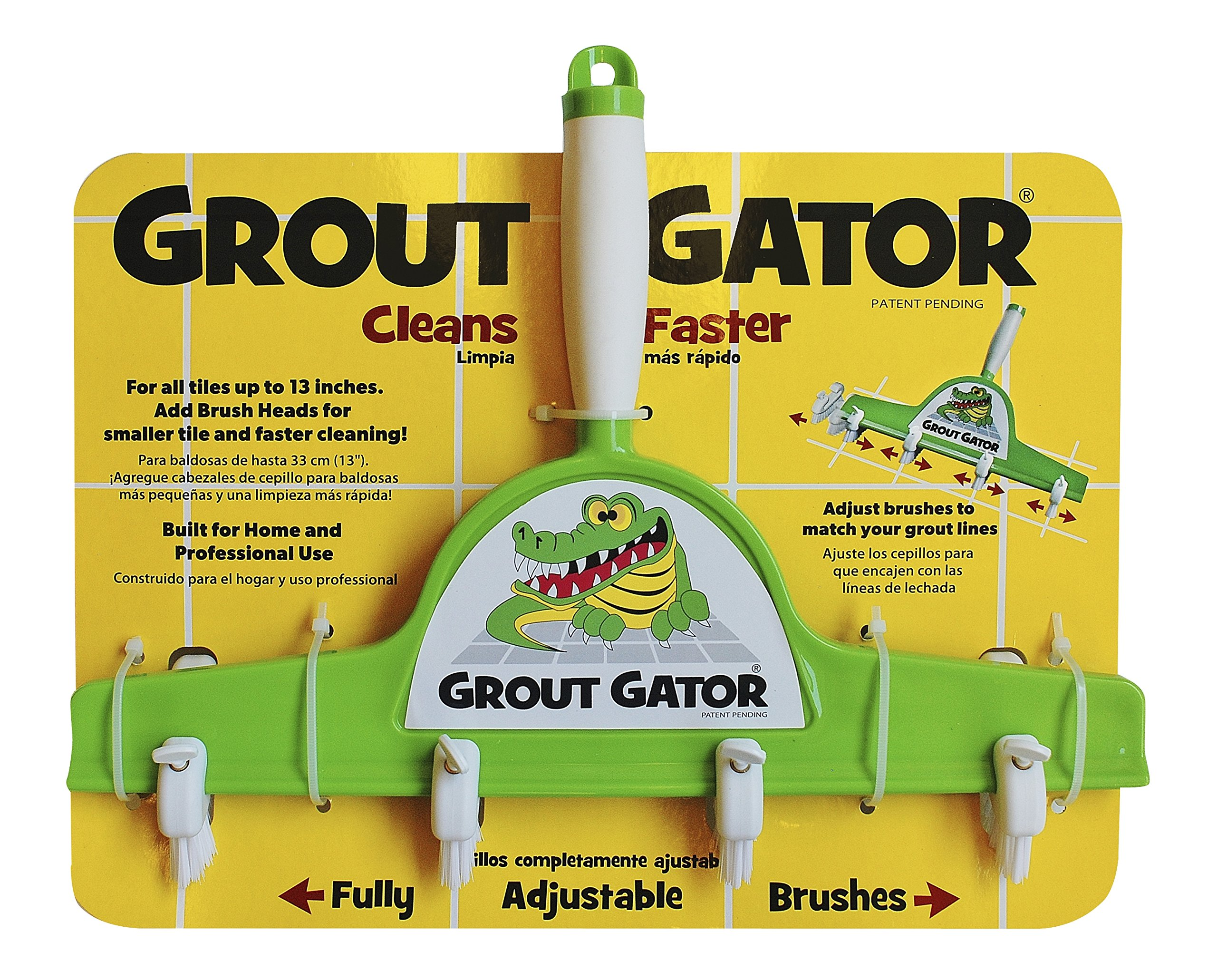 Grout Gator Cleaning Brush