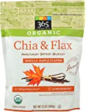 365 by Whole Foods Market, Organic Ground Seed Blend, Flax & Chia - Vanilla Maple Flavor, 12 Ounce
