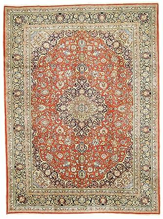 Handgeknupfter Teppich Sarough 436x321 Pakistanischer Teppich