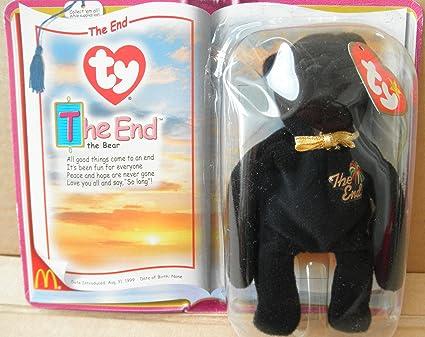 Amazon com: Ty McDonald's Teenie Beanie Babies The End Bear: Office
