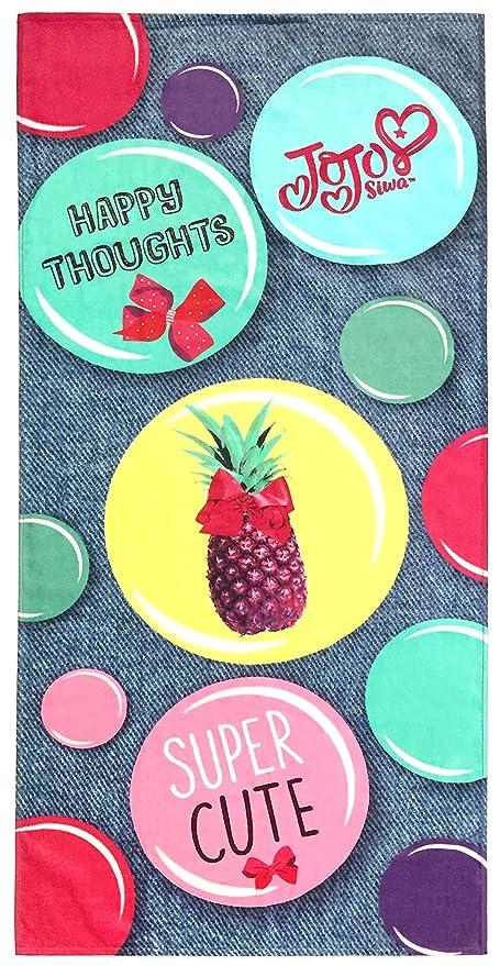 f85e80459e Jay Franco Nickelodeon JoJo Siwa Happy Thoughts Kids Bath Pool Beach Towel  - Super